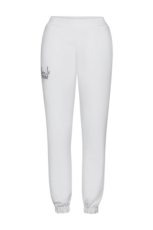 Naomi white sweatpants