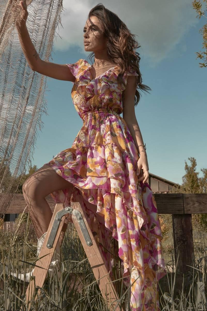 Vixen Maxi dress